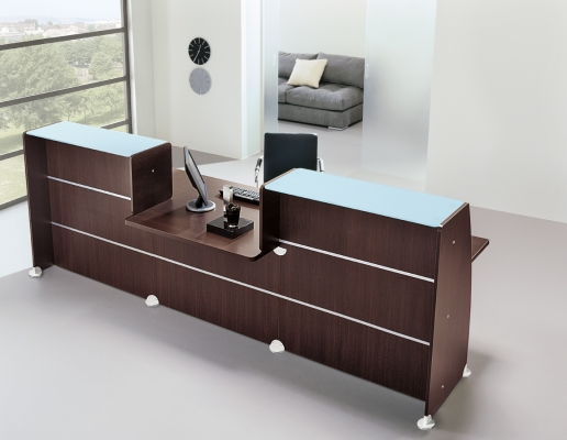 banque d 39 accueil glass achat banques d 39 accueil. Black Bedroom Furniture Sets. Home Design Ideas