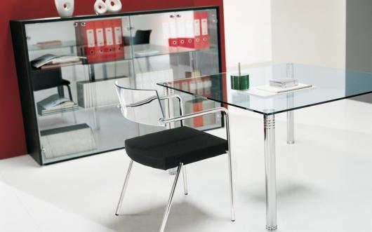 Bureau en verre votre bureau en verre haut de gamme sur attitude