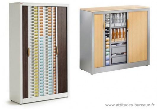 Armoire a rideaux de bureau beautiful armoire de for Meuble bureau jec