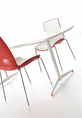 Chaise now achat chaises de collectivit - Mobilier de collectivite ...