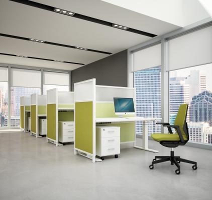 Bureau assis debout lectrique canvaro achat bureaux for Bureau debout