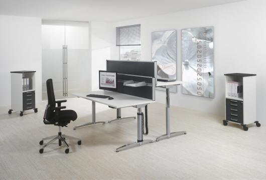 bureau assis debout lectrique achat bureaux r glables en hauteur lectrique. Black Bedroom Furniture Sets. Home Design Ideas
