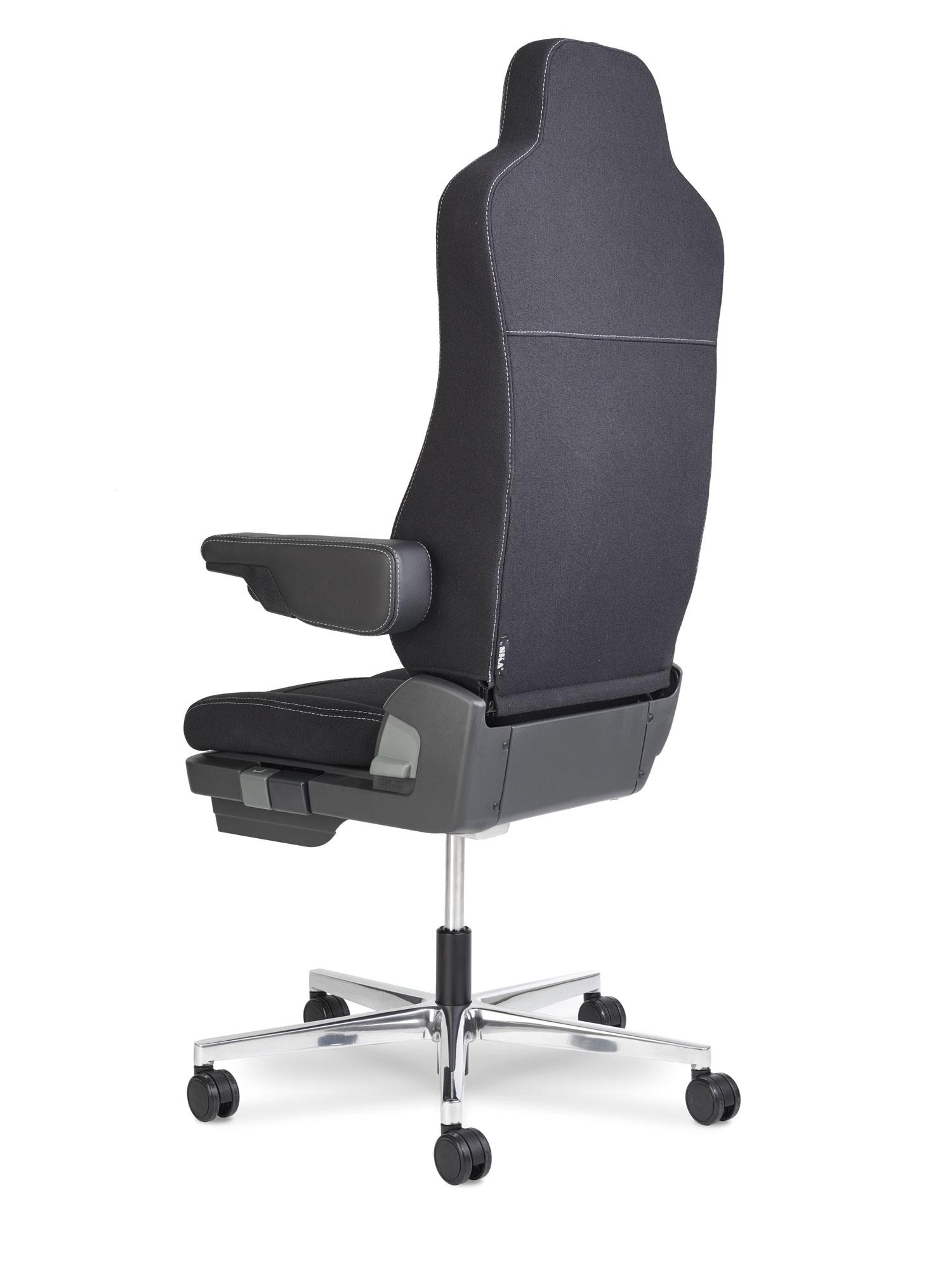 fauteuil de bureau confort pour forte corpulence l 39 offre attitude bureaux. Black Bedroom Furniture Sets. Home Design Ideas